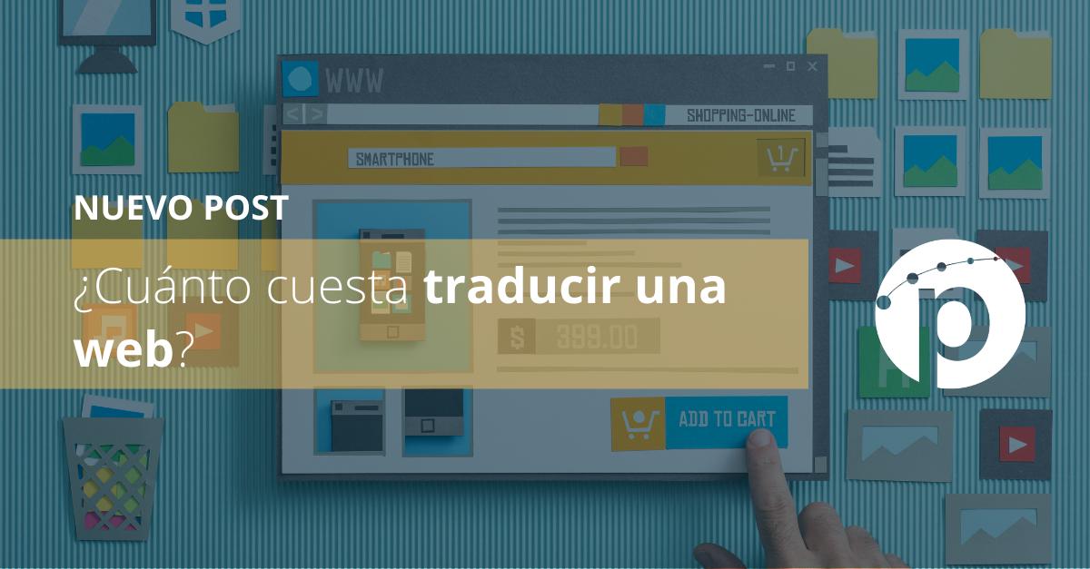¿Cuánto cuesta traducir una web?